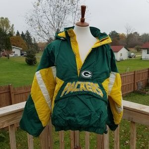 VINTAGE 90S STARTER Green Bay Packers Jacket